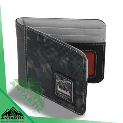 Eiger Dark Camou Wallets - Black