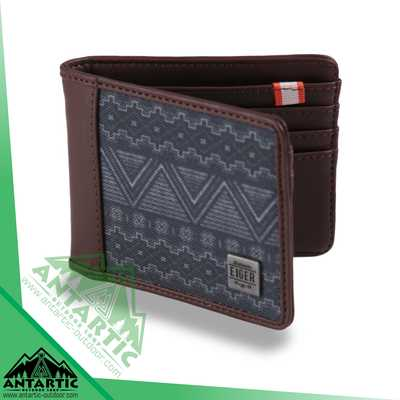 Eiger 1989 Nativer Wallet - Brown