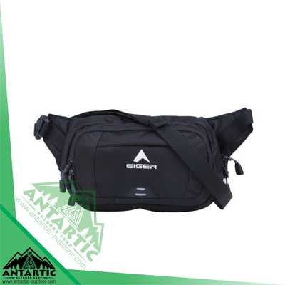 Eiger Waist Bag Wall-Run - Black